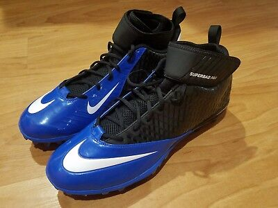 super popular a9a83 e7da2 New Nike Lunar Super Bad Pro TD Mens Football Cleats Size 15 511334-014