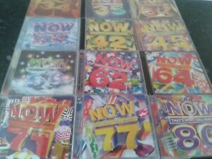 NOW THAT'S WHAT I CALL MUSIC CD COLLECTION