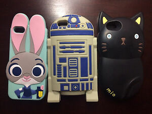 iPhone 5 phone cases Zootopia Judy R2D2 Star Wars Cat