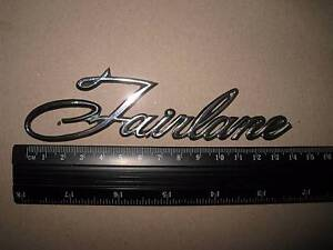 WANTED ZB 1968 FAIRLANE BOOT EMBLEM Traralgon Latrobe Valley Preview