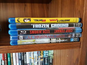 Various DVDs & BluRay movies