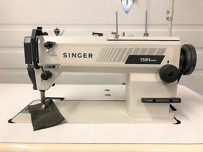 Singer 1591d300g High Speed 1n Reverse New 110v Servo Industrial Sewing Machine