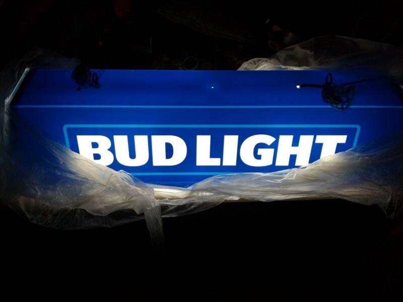 Bud Light beer Pool Table light up bar sign billiards man cave game mib
