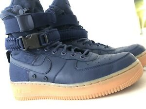 NIKE AIR FORCE 1 MIDNIGHT BLUE