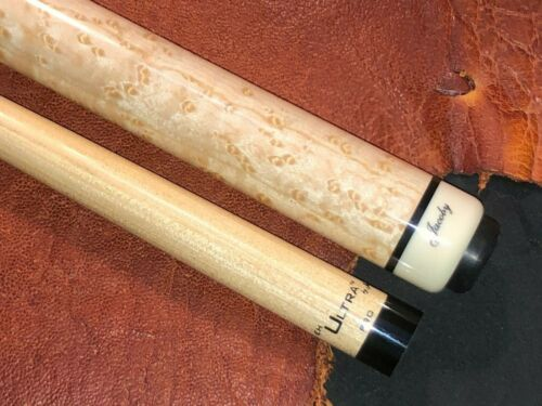 Jacoby Pool Cue With Jacoby Edge Hybrid Ultra Pro Shaft. Wrap-less 0121-48