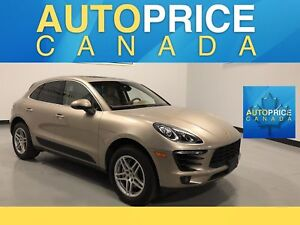 2015 Porsche Macan S MOONROOF|NAVIGATION|LEATHER