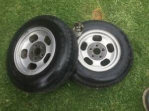 Holden HT rims and tyres Wodonga Wodonga Area Preview