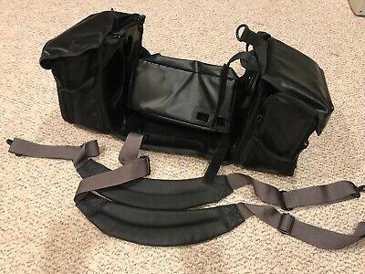 Used Philips Heartstart Mrx Defibrillator Storage Carry Case Bag W Strap 1