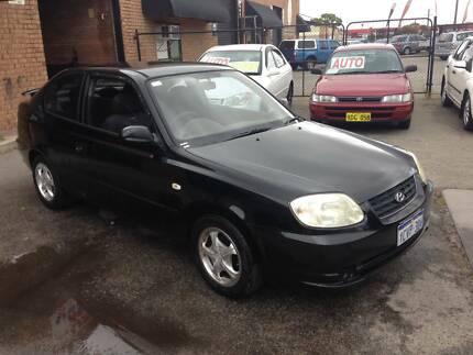 2003 HYUNDAI ACCENT HATCH AUTO, 148,000KMS, O Wangara Wanneroo Area Preview