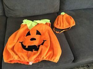 Kids Halloween Costume - Pumpkin size 0-18mths