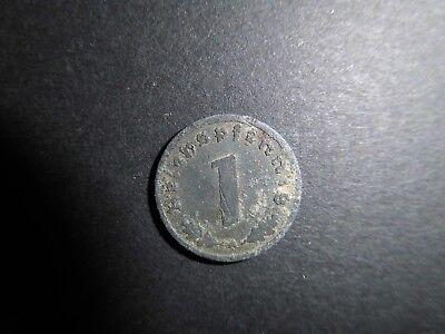 1 Reichspfennig 1943 Deutsches Reich mit HK A