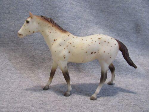 Breyer #713267 Quarter Horse stallion red leopard JCP 1988 paddock pal