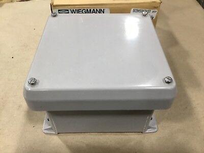 Hubbell Wiegmann Vj606w Non-metallic Enclosure 6 X 6 X 4 Type 4x 07b31tk