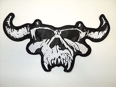 Нашивки DANZIG SKULL EMBROIDERED BACK PATCH