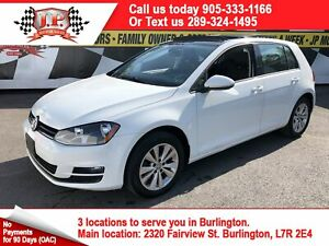 2015 Volkswagen Golf Highline, Auto, Leather, Sunroof,