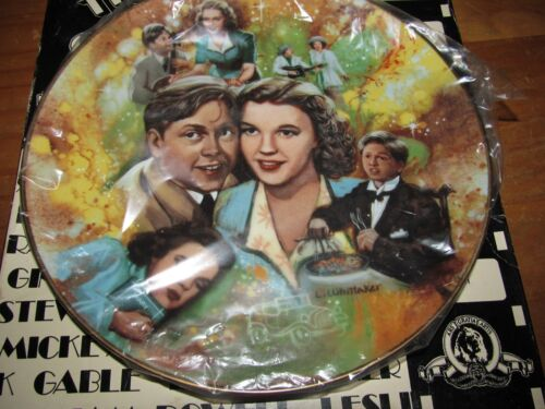 The Golden Age of Cinema Judy & Mickey Collectors Plate