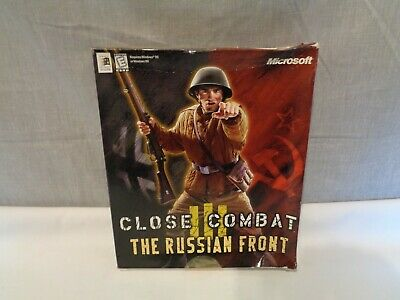 CLOSE COMBAT III 3 THE RUSSIAN FRONT  PC CD-ROM BIG BOX COMPLETE MICROSOFT