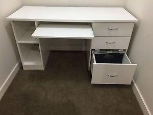 White desk Wahroonga Ku-ring-gai Area Preview