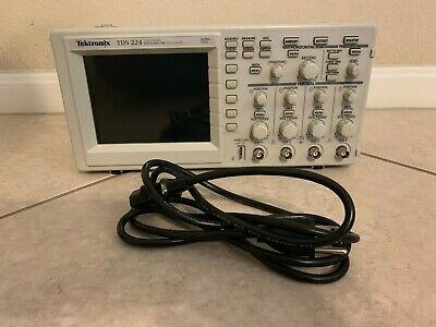 Tektronix Tds 224 4 Channel Digital Real Time Oscilloscope 100mhz 1gss
