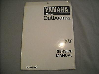 Yamaha Outboard Service Manual 3V LIT-18616-01-63 NEW