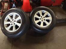 Genuine Toyota Kluger Alloy Wheel and Tyres Dulwich Hill Marrickville Area Preview