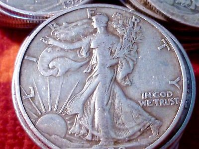 1940'S 90 SILVER U.S COIN  LIBERTY HALF DOLLAR  LOT OF 1  FREE SHIP ANY QTY