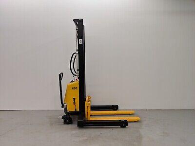 Hoc Spn103542 - 42 Inch Width Semi Electric Stacker 2204 Lbs 138 Inch Capacity