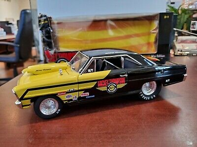 Rare Mickey Thompson 1966 Chevy Pro Stock 1:18 American Muscle ERTL DieCast NOS