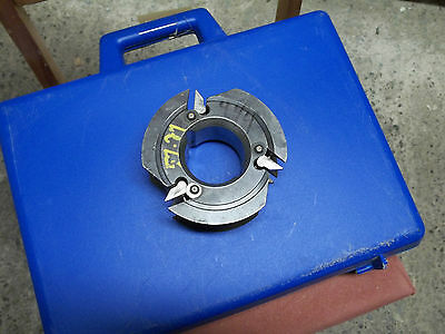 Shaper Cutter Molder Head  Insert Carbide 2 14 Bore