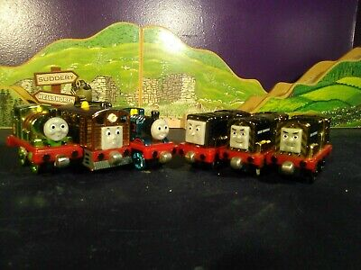 Thomas & Friends Take Along Die-Cast Metallic Engine Lot - Steamies and Diesels