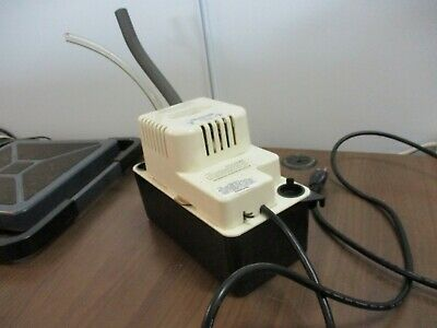 Little Giant Condensate Removal Pump Vcma-15uls 115v 60hz 1.0a 1ph Used