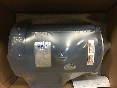 140535.00 Leeson Motor 5hp 3 Phase 215tc Frame
