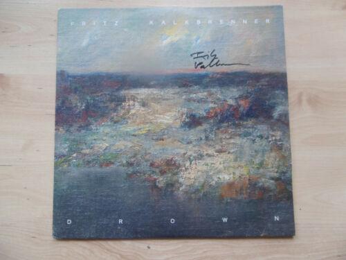 """Fritz Kalkbrenner Autogramm signed LP-Cover """"Drown"""" Vinyl"""