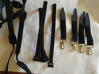 Correas Velcro varias medidas Organizador de cables Bridas para cables Lazos