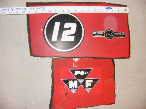 Massey Ferguson BALER Metal Sign OWATONNA MINNESOTA DEALER