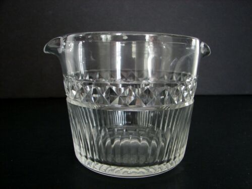 Antique Georgian Wine Rinser Cut Glass Crystal Ireland England ca.1830s