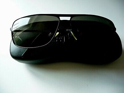 Christian Dior Homme Sonnenbrille Schwarz Neu
