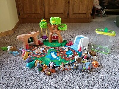 Fisher Price Little People ABC A to Z Learning Zoo Complete 26 Animals Alphabet