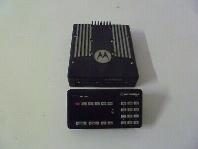 Motorola Xtl5000 P25 9600kb 800 Mhz Two Way Radio Astro Head M20urs9pw1an