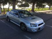 2004 Subaru Impreza WRX MY04 (AWD) Silver 5 Speed Manual Sedan Fremantle Fremantle Area Preview