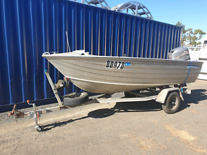 4.2m savage dinghy, trailer and 40hp Mariner 2 stroke East Bunbury Bunbury Area Preview