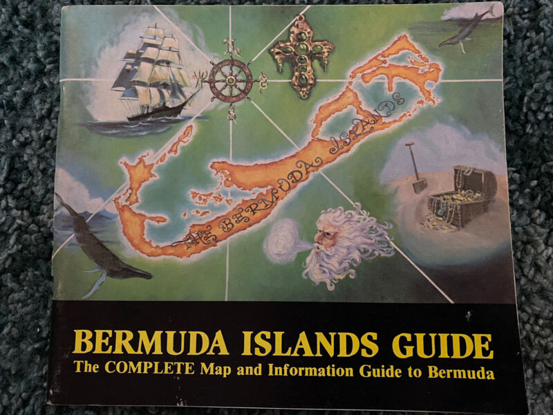 Bermuda Islands Guide The Complete Map And Info Guide 1982