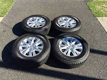 Mazda BT-50 4x4 XTR Alloy Rims and Tyres Newcastle Newcastle Area Preview