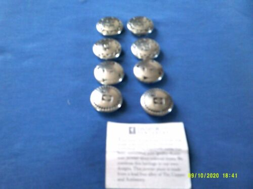 DANFORTH PEWTER BUTTONS (8)