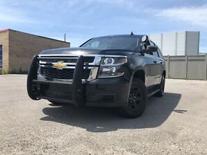 2015 Chevy Tahoe Police 4X4
