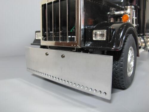 Aluminum Drill Front Bumper Tamiya 1/14 R/C GlobeLiner Knight King Hauler