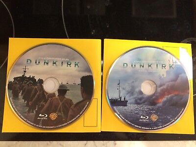Dunkirk Blu Ray 2017 Movie   Special Features New