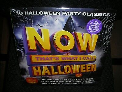 Now That's What I Call Halloween **NEW COLORED RECORD LP VINYL inxs rob zombie
