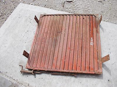 Allis Chalmers Wd 45 Tractor Ac Front Radiator Nose Cone Grill Shutters Shutter