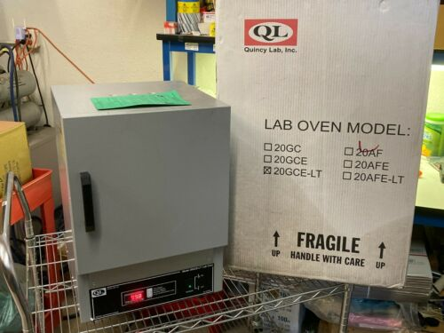 QUINCY LAB 20GCE-LT LOW TEMP 115V GRAVITY CONVECTION LAB OVEN 210°F / 99°C 360W